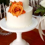 White Wedding Cake with Buttercream
