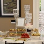 Bridal Shower Dessert Table Assortment