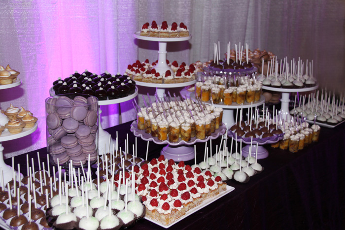 Wedding Dessert Table | The Dotted Apron